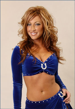 Kirstie: Indianapolis Colts cheerleader-turned-Chemist