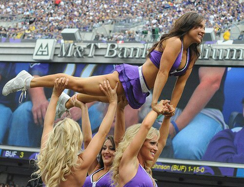 Meet Kristen: Ravens cheerleader, high school chemistry teacher