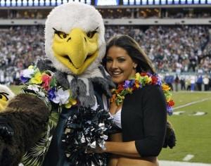 Eagles/Science Cheerleader featured in American Cheerleader Mag