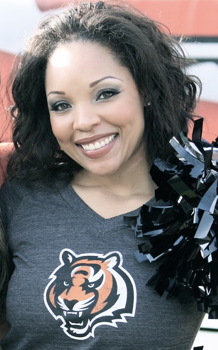 Meet Heather: Former Bengals cheerleader, Masters from Yale ('11)