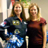 Astronaut Tracy Caldwell Dyson: space (+chemistry) cheerleader