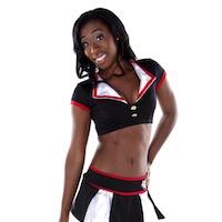 Kendra: Vegas cheerleader and aspiring Doctor of Nursing