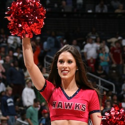Meet Desiree: inspired by fellow NBA cheerleader to study science!