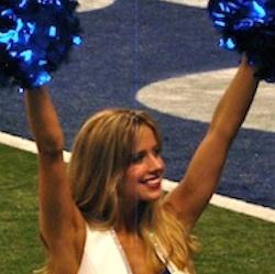Meet Hannah: Colts cheerleader pursuing public health degree