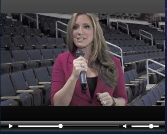 Vote for Melanie: Science Cheerleader (and Super Bowl correspondent?!)