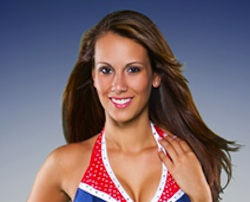 Jessica:Patriots cheerleader, future active duty officer,  United States Army Nurse Corps