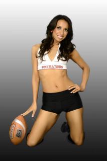Jeannie: Orlando Predators Cheerleader and phlebotomist