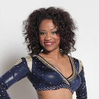Crystal: St. Louis Rams cheerleader and biologist