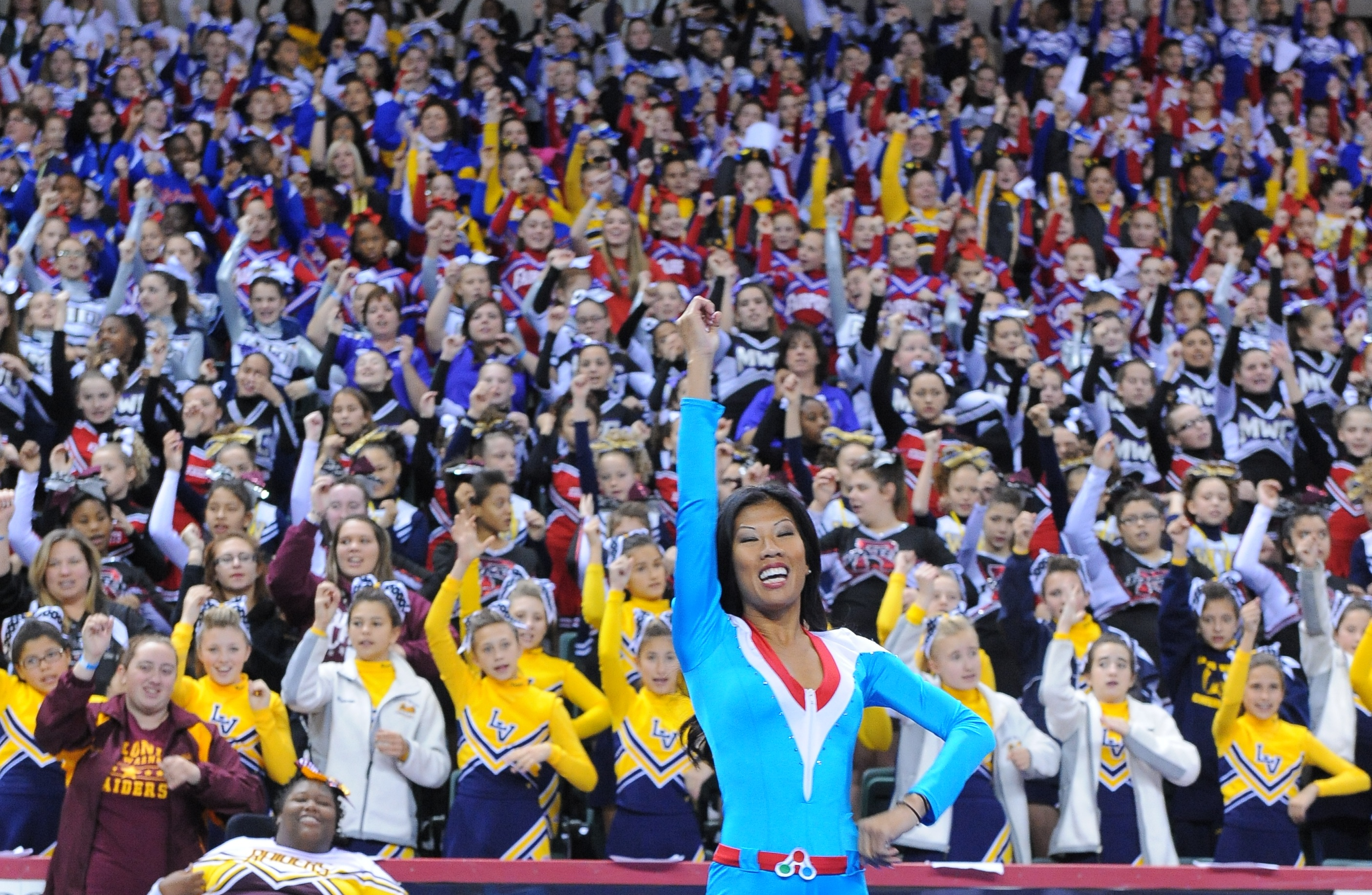 Meet dozens of NFL and NBA cheerleaders pursuing science careers at the USA Science and Engineering Festival.