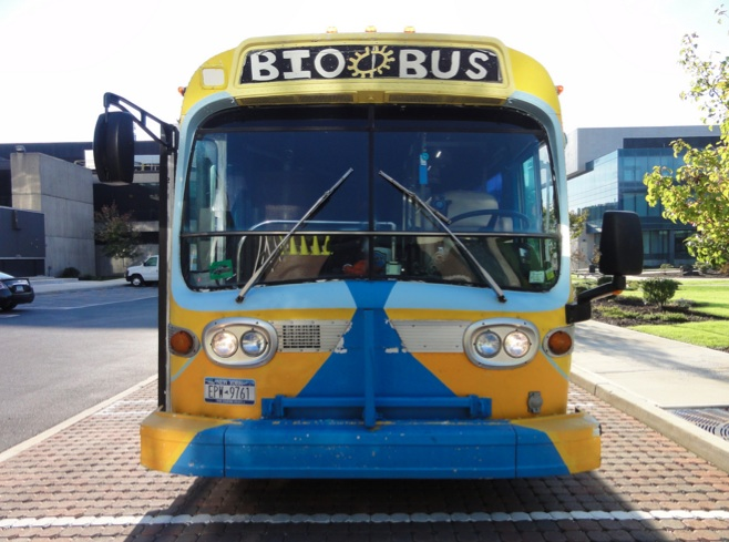 June 3, NYC: Meet SciCheers Amanda and Christine at the BioBus, World Science Festival!