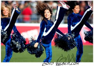 Marjorie: Montreal Alouettes Cheerleader and Mechanical Package Engineer