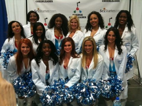 Meet the Science Cheerleaders at the USA Science and Engineering Festival in Washington, DC!