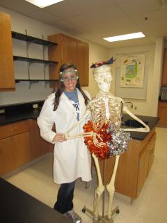 Niki: Competitive cheerleader and future medical doctor.