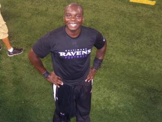 Omololu: Baltimore Ravens StuntMAN with Master's in Occupational Therapy