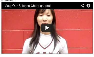 Why the MIT cheerleaders are great Science Cheerleaders