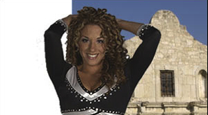 Former San Antonio Spurs Cheerleader will help teachers and Spurs fans send microbes to space!