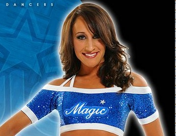 Ashley: Orlando Magic Dancer who purchased light-emitting diodes for the International Space Station!
