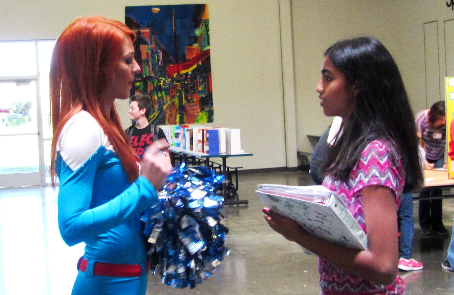 Cheers to supporting future scientists and engineers! Guest post from Science Cheerleader Wendy Brown.