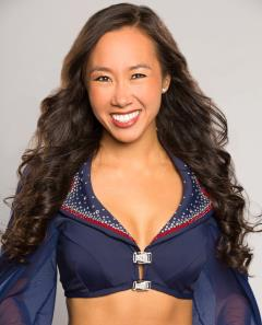 Kelly: New England Patriots cheerleader pursuing PhD in cognitive neuroscience, Department of Defense fellowship