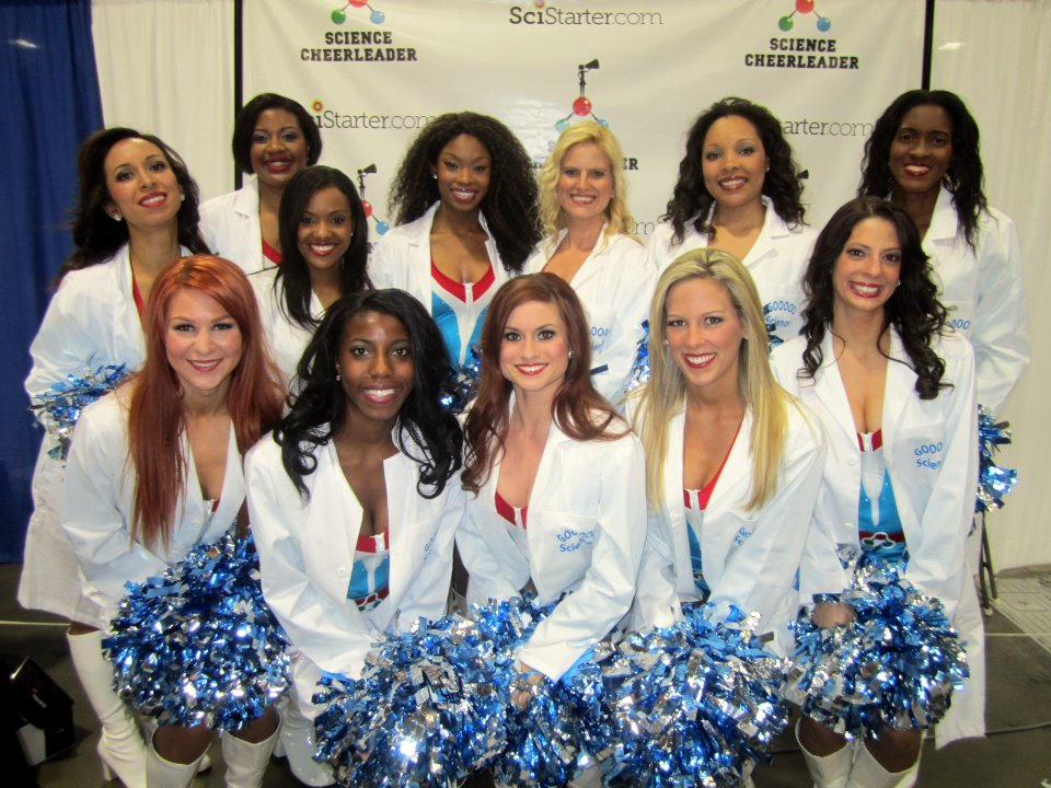 Philadelphia Inquirer: A Tale of Cheerleaders, Microbes and Orbit
