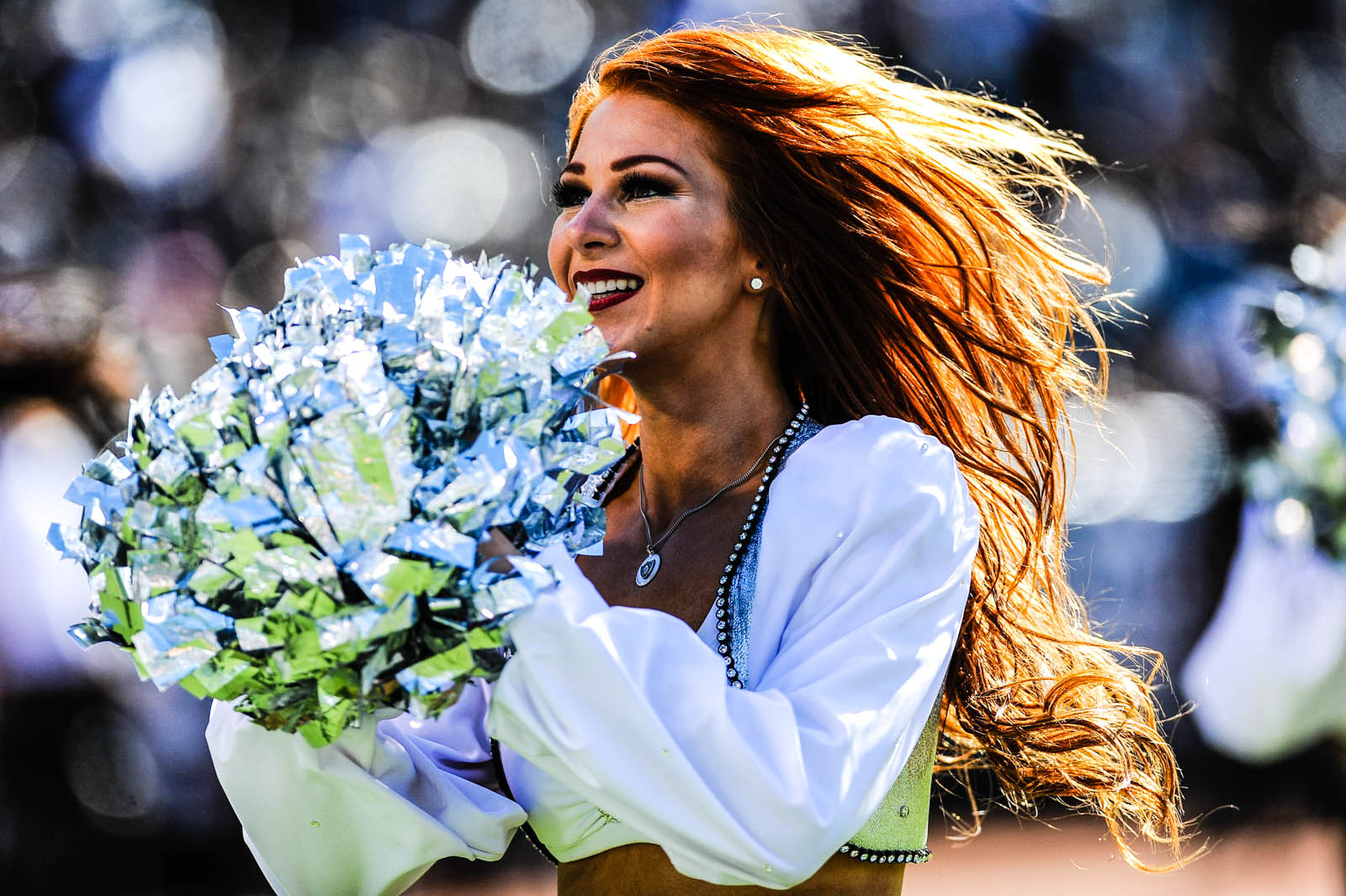 Wendy: NFL cheerleader, Biomedical Engineering PhD candidate