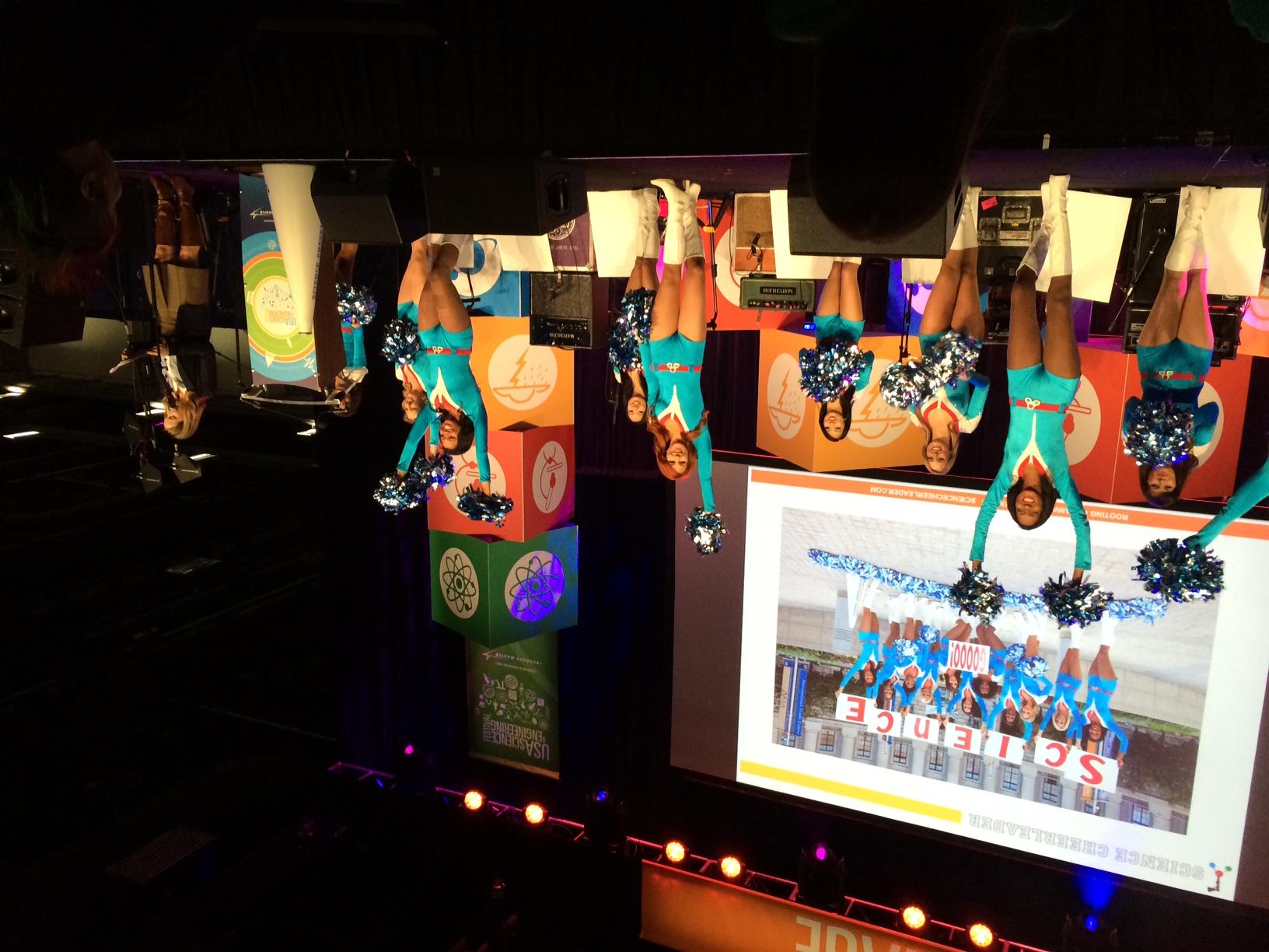 Looking back at Science Cheerleader performances