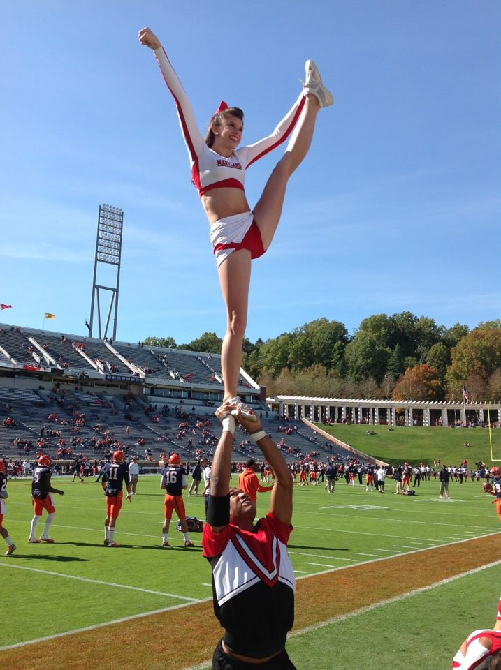 Science Cheerleader William: pursuing a Master's Degree in Marine Biology, former cheerleader at the University of MD!