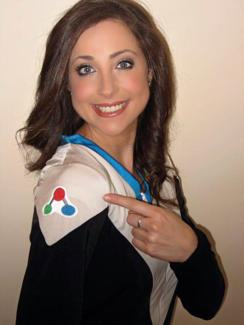 Nurse Anesthetist and Former Washington Redskins Cheerleader Rachel Visits HoCo STEM Festival