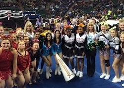 Science Cheerleaders take citizen science to Pop Warner regional cheer championship!