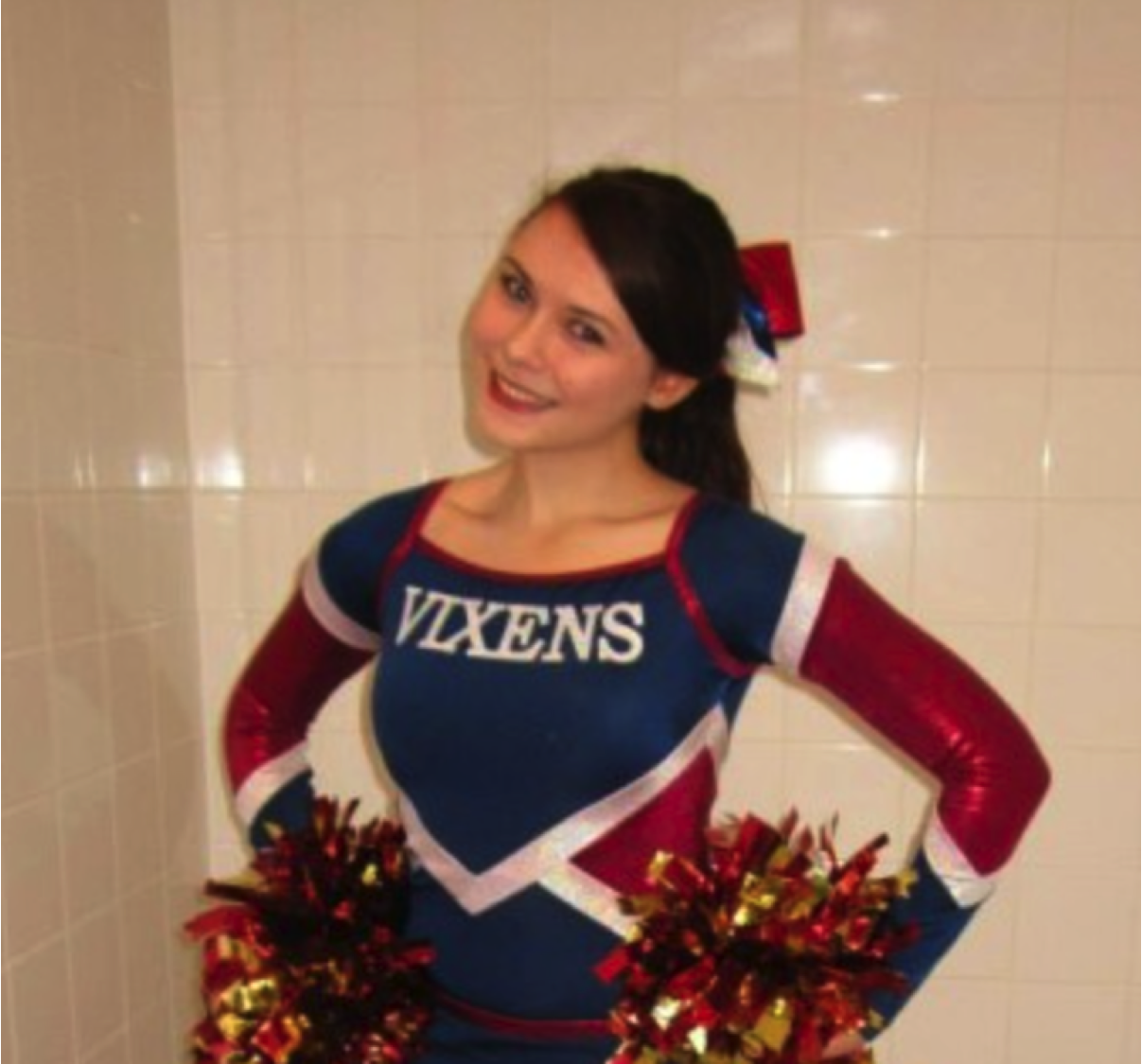 Lucy: Former University of Southampton cheerleader who works at the Institute of Cancer Research