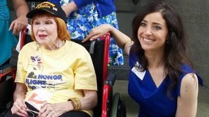 Science Cheerleader, Rachel, selected as Ms. Veteran America finalist