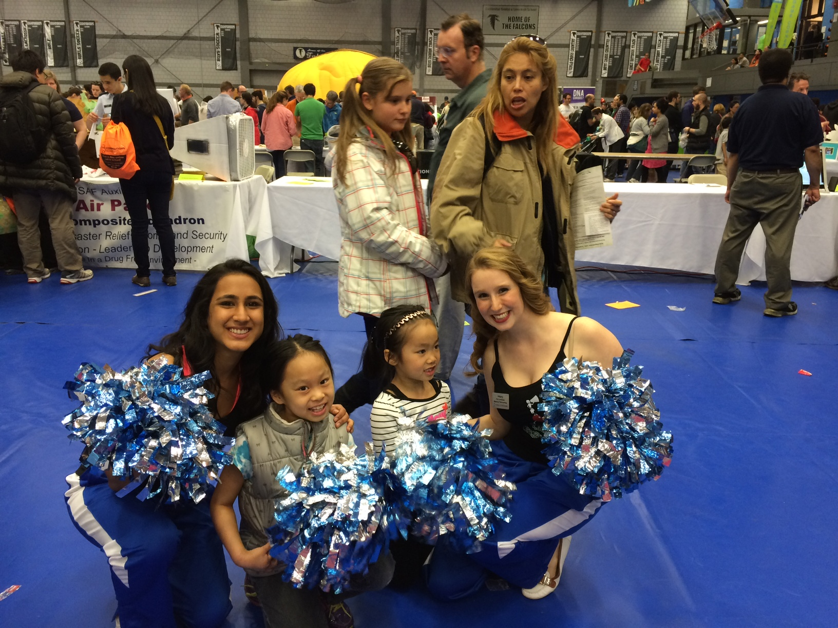 Science Cheerleaders Return to the Cambridge Science Festival!