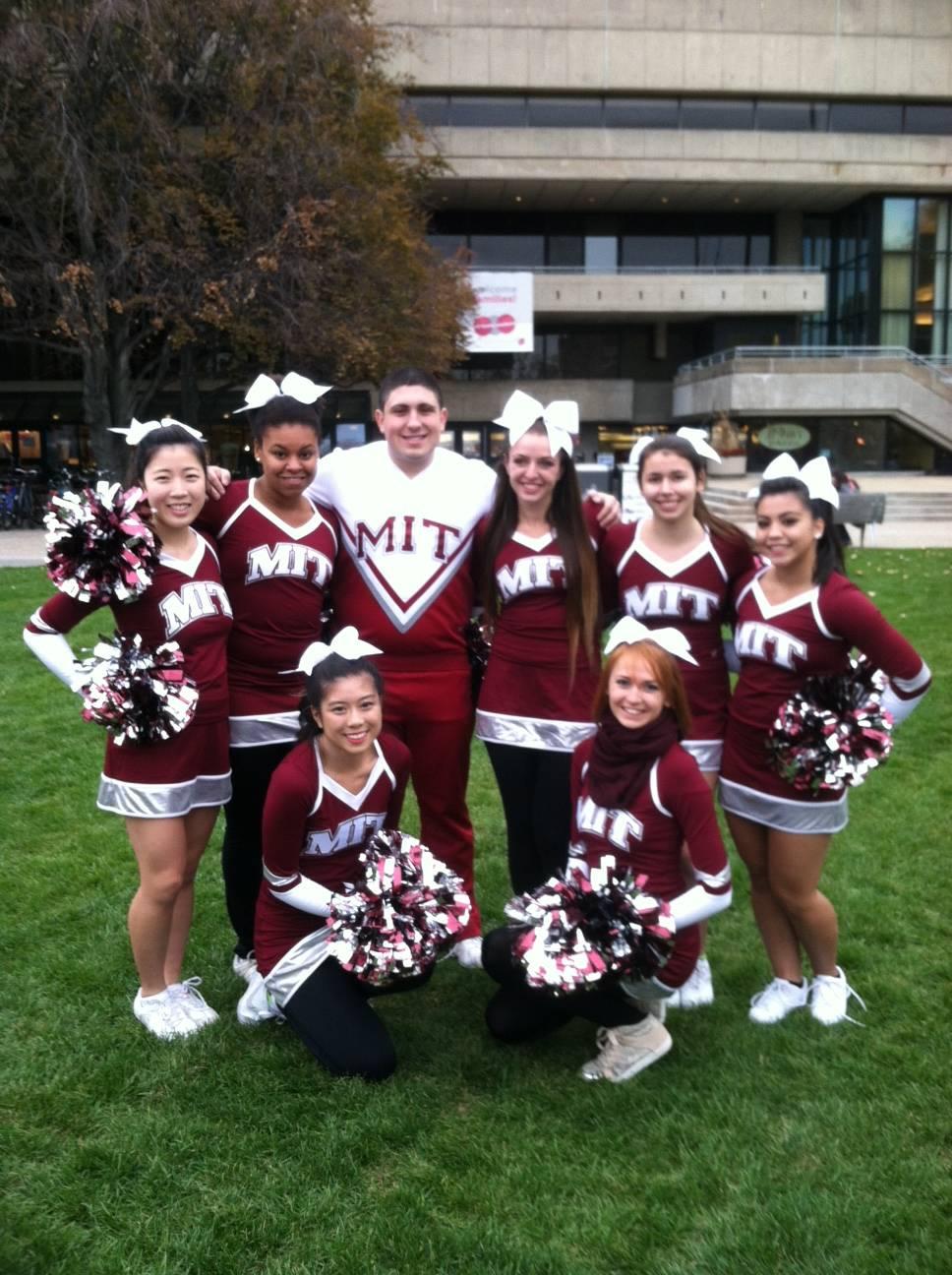 Meet the MIT Cheerleaders: Science Cheerleaders by Definition!