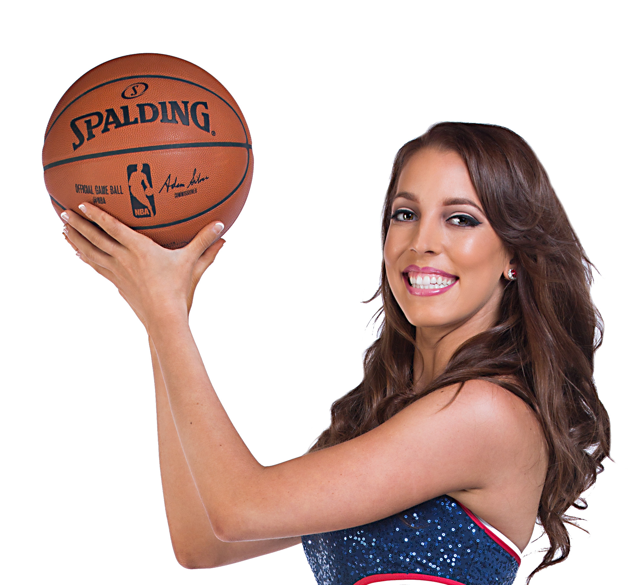 Jaclyn: Washington Wizards Cheerleader, Mathematician, and Computer Engineer, performing with Science Cheerleaders at the USA Science and Engineering Festival