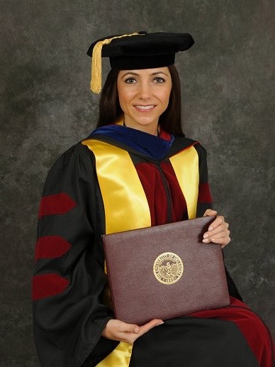 Amber: A College Cheerleader and PhD changing our world!