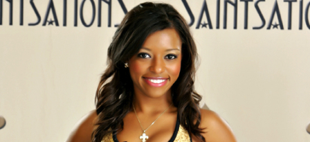 Meet Derecka: New Orleans Saints Cheerleader Studying Zoonotic Diseases