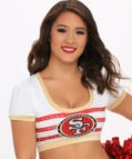 Meet Anelisse: 49ers Cheerleader with an Engineering Degree from Stanford