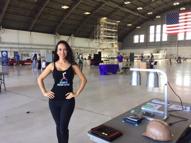 Talking Citizen Science at MacDill Air Force Base