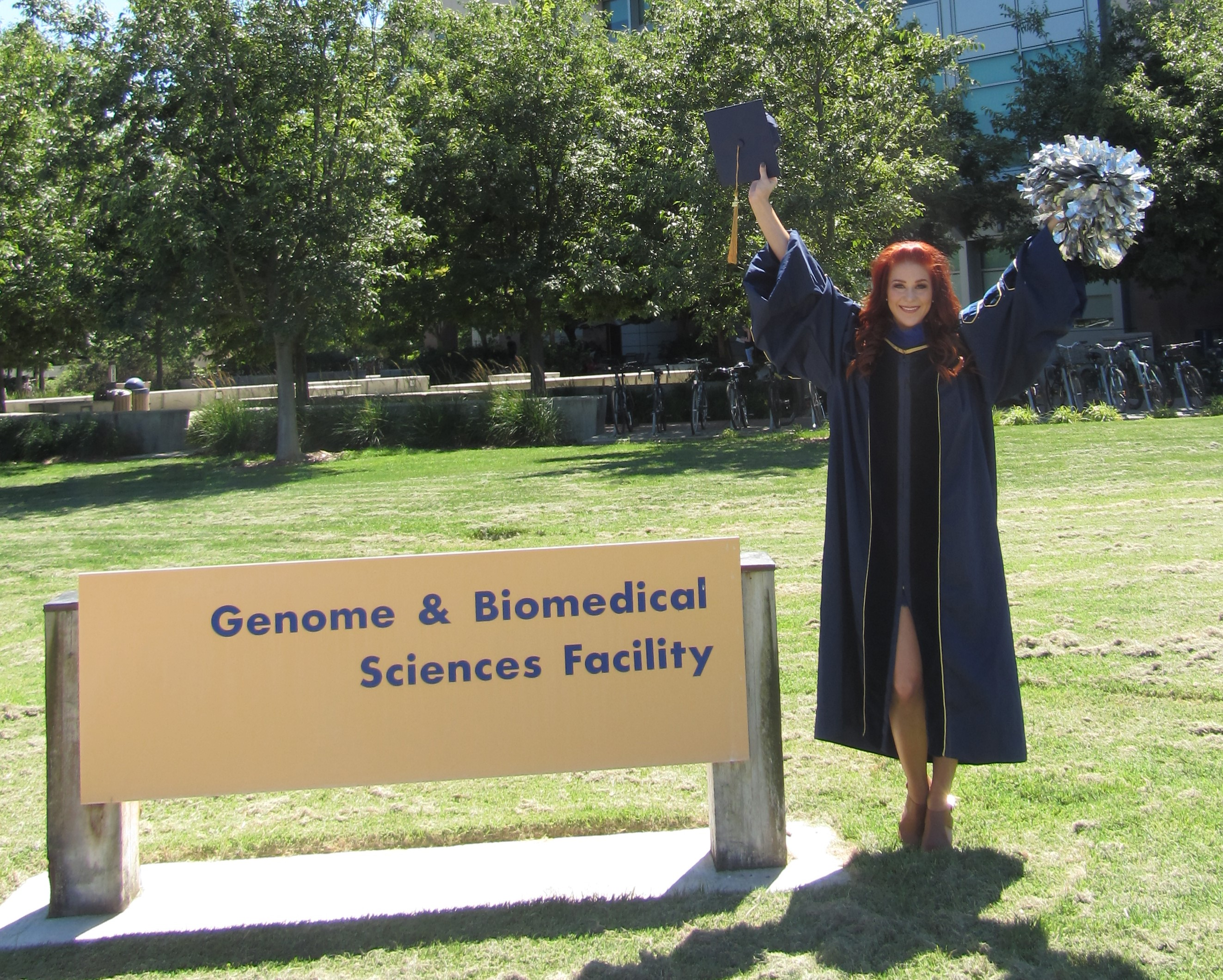 Guest Blog Post: Wendy the Ph.D. Biomedical Engineering Science Cheerleader