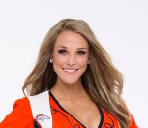 Meet Morgan: Broncos Rookie Cheerleader and Aerospace Engineer!
