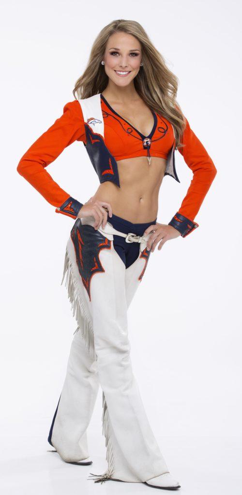 Broncos Cheerleader Morgan