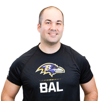 Chris: Systems Engineering Program Manager and Stuntman for the Baltimore Ravens Playoff Team