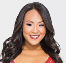 Elaine: Registered Nurse and Cheerleader for the San Francisco 49ers Playoff Team