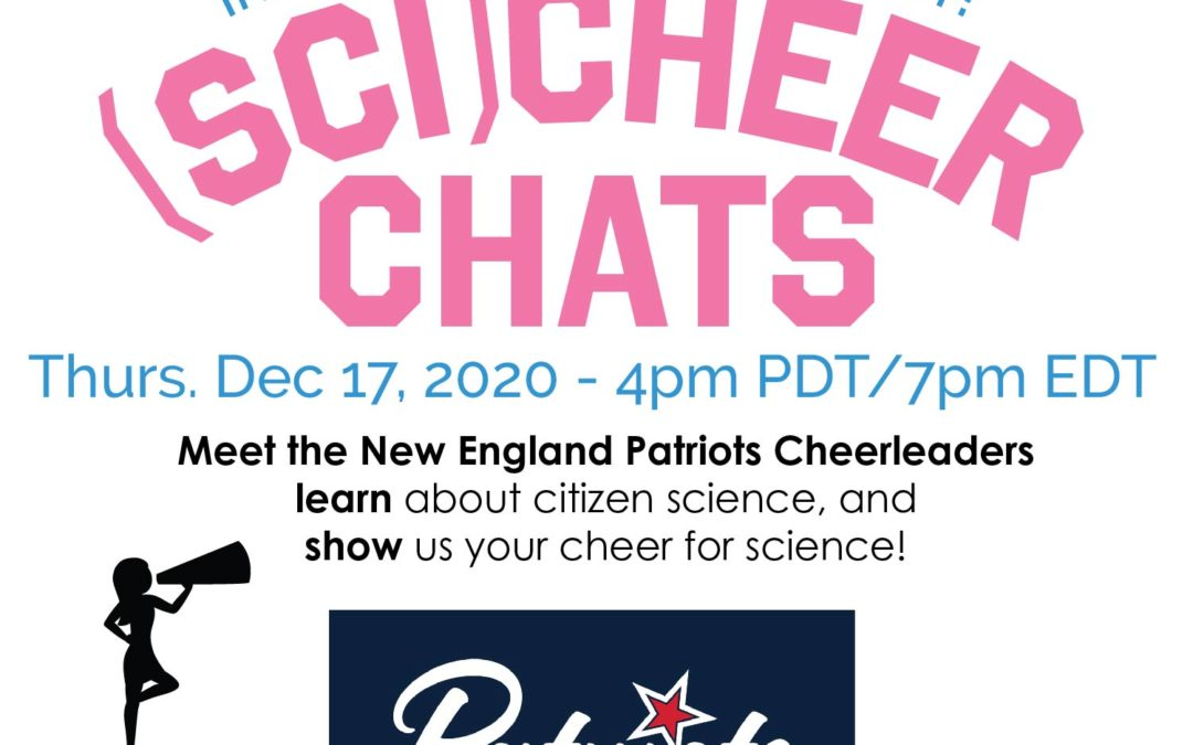 (Sci)Cheer Chat – Session 3: Meet the New England Patriots Cheerleaders!