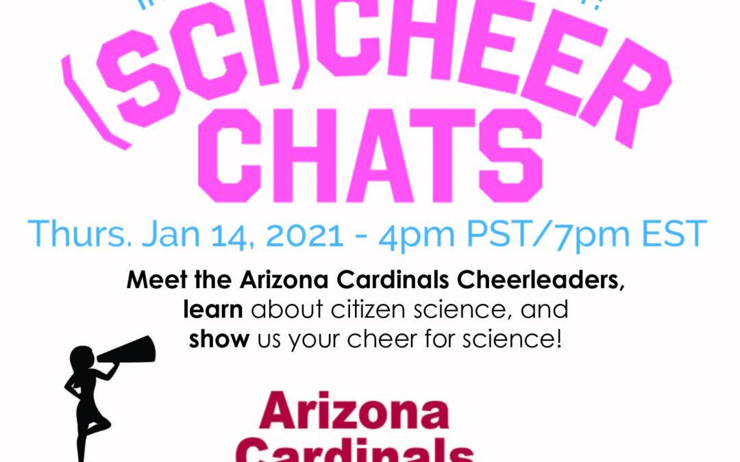 (Sci)Cheer Chat – Session 4: Meet the Arizona Cardinals Cheerleaders!